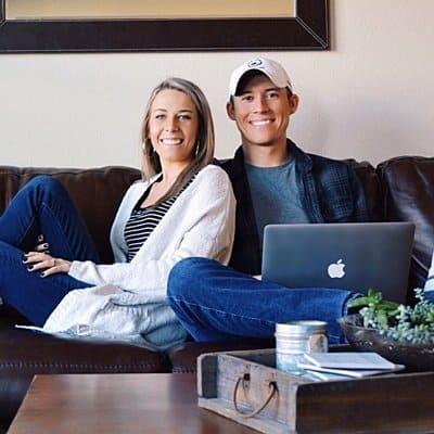 Zach and Katie, Owners of Be The Budget, and on a mission to help people with their person finances   Be The Budget