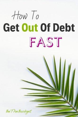 How To Get Out Of Debt Fast (Even On A Low Income) | BeTheBudget