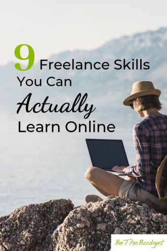 9 freelance skills you can actually learn online. If you want to make extra money freelancing, these 9 skills could help you make thousands every month. #freelance #makeextramoney #sidehustle
