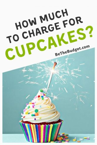 How much to charge for cupcakes: side hustle pricing guide | Be The Budget