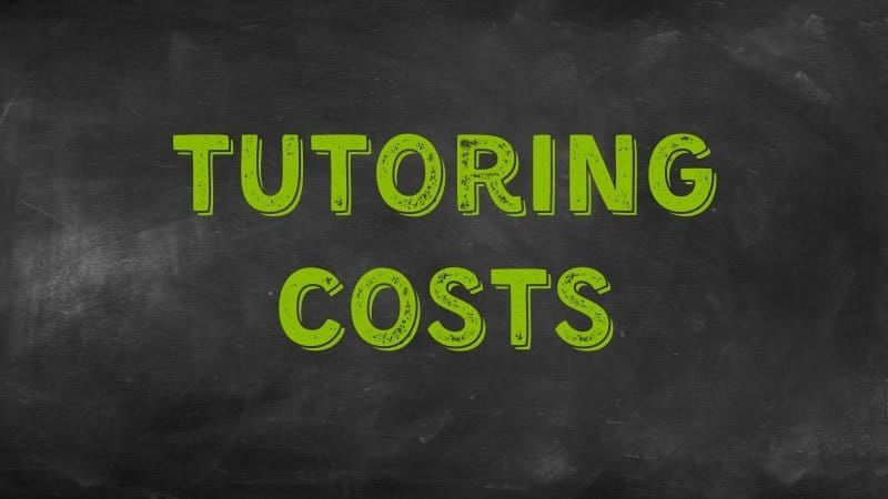 Tutoring costs | Be The Budget