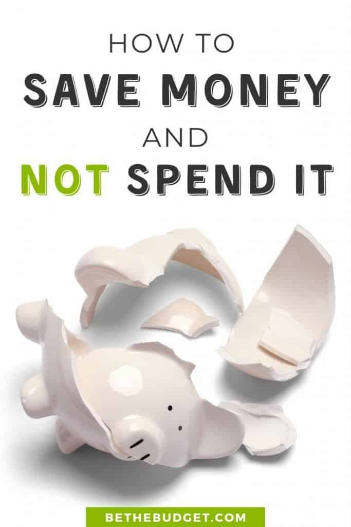 How to save money and not spend it. These 10 money saving tips will help you protect your savings and build your financial future. #savemoney #moneysavingtips #howtosavemoney | BeTheBudget.com