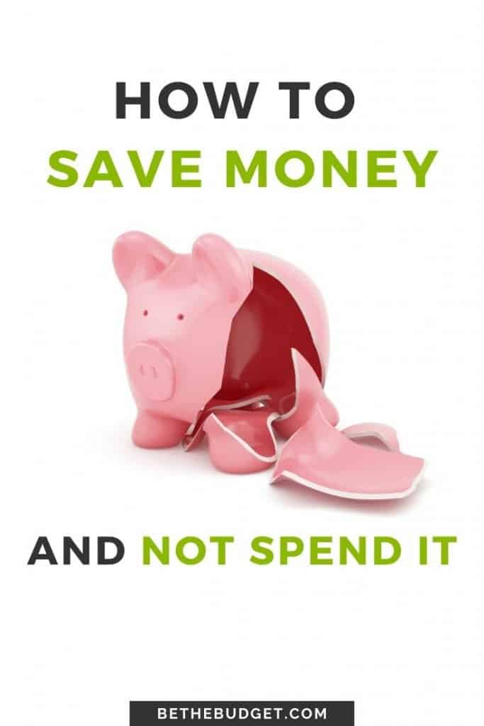 How to save money and not spend it. Your financial future depends on your ability to save money and not touch it. These 10 tips will help you do just that! | BeTheBudget