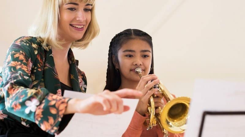 Teaching music lessons   Trumpet   Be The Budget