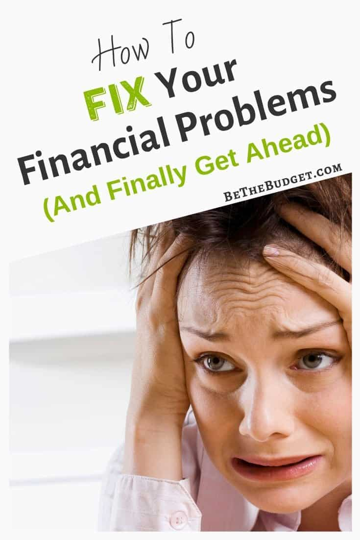 How to fix your financial problems | Be The Budget