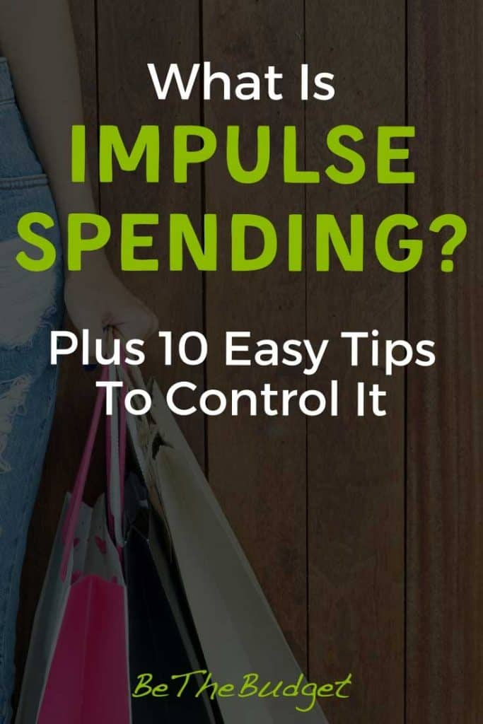 What is impulse spending and how to control it | Be The Budget