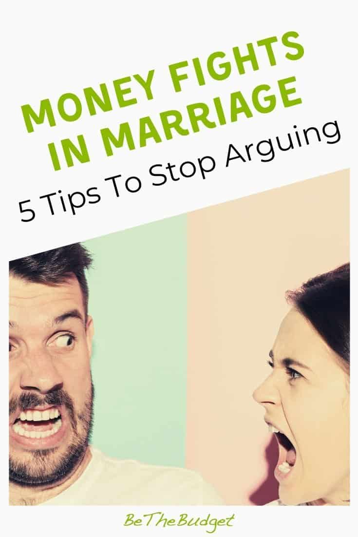 Money fights in marriage: how to stop arguing about money | Be The Budget