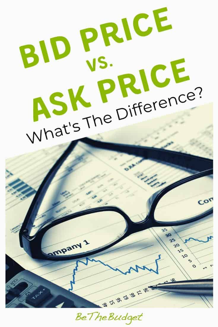 Bid Price vs. Ask Price: What's The Difference? | Be The Budget