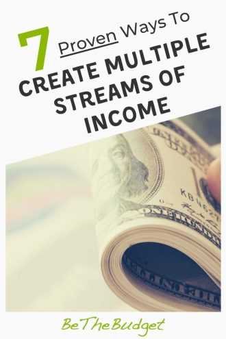 7 ways to create multiple streams of income | Be The Budget