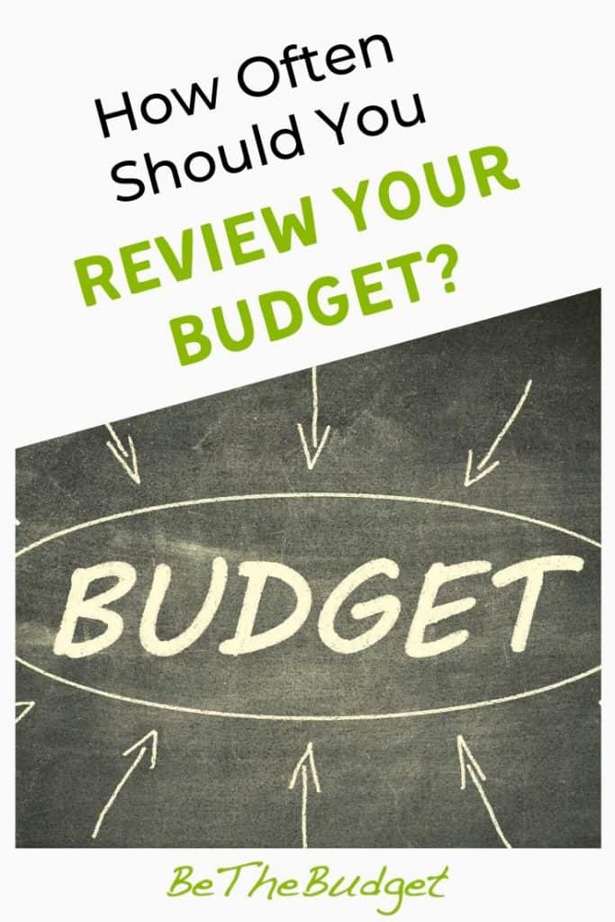 How Often Should You Review Your Budget? | Be The Budget