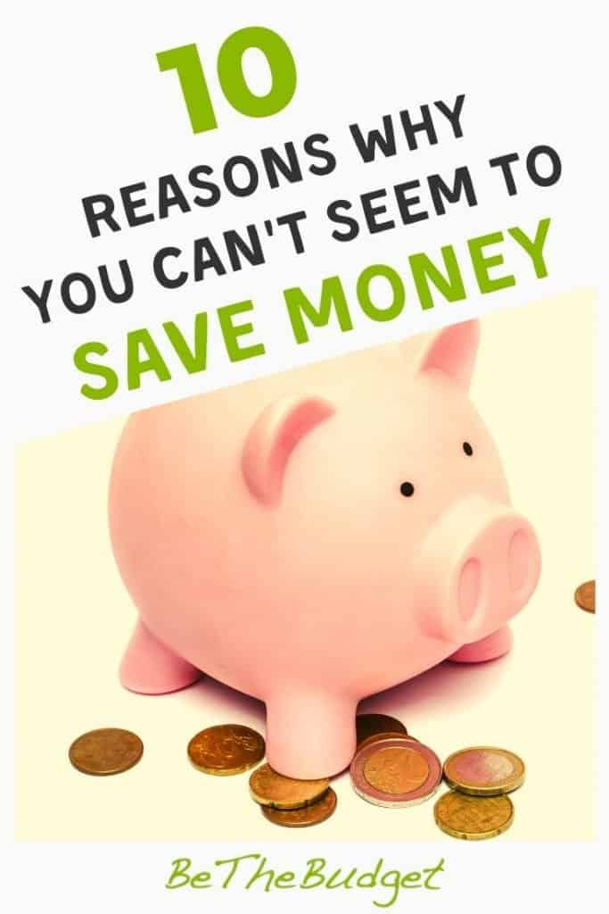 10 money-sucking reasons why you can't save any money | Be The Budget