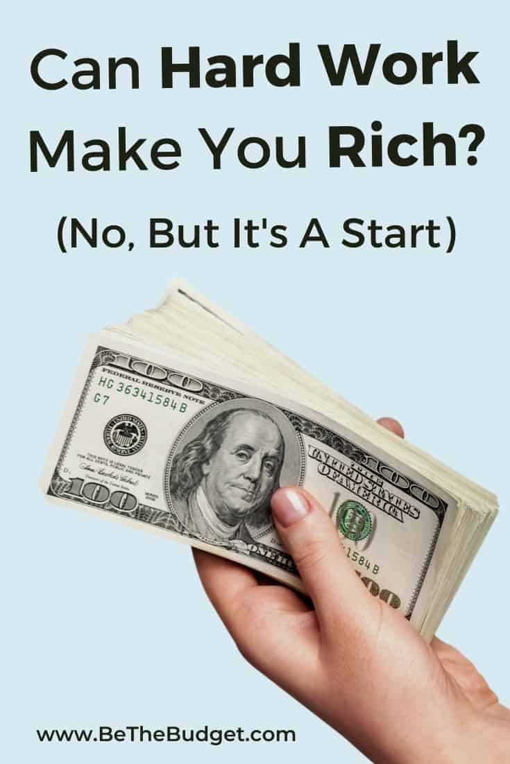 Can hard work make you rich? | Be The Budget