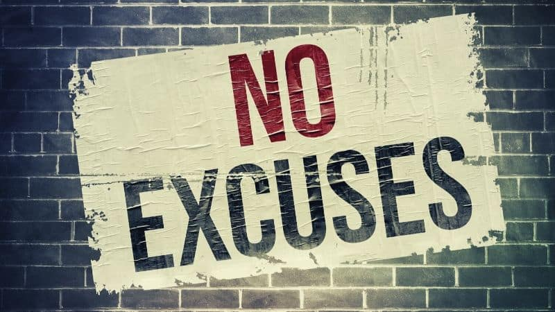 15 Worst Excuses For Not Budgeting | Be The Budget