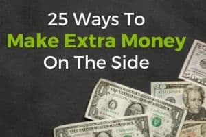 25 ways to make extra money on the side