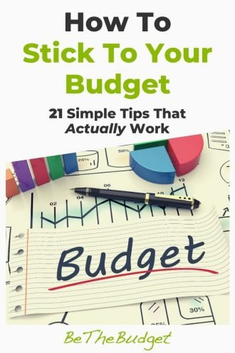 21 Tips To Help You Stick To Your Budget | Be The Budget