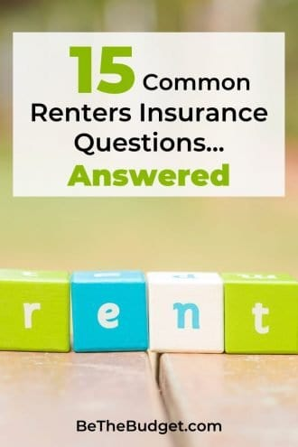 15 Common Renters Insurance Questions - Answered | Be The Budget