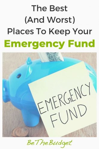 Where to keep your emergency fund? | Be The Budget