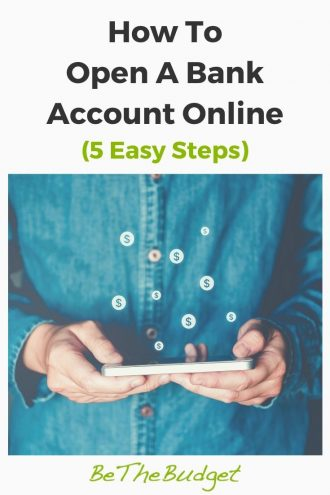 How to open a bank account online in 5 easy steps | Be The Budget
