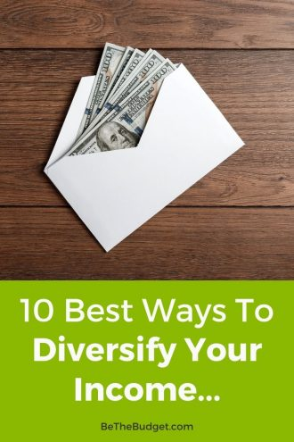 How To Diversify Your Income   Be The Budget