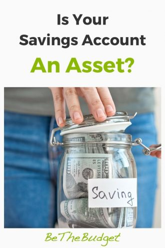 Is your savings account an asset? | Be The Budget