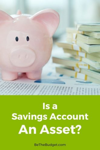Is a savings account an asset or liability? | Be The Budget