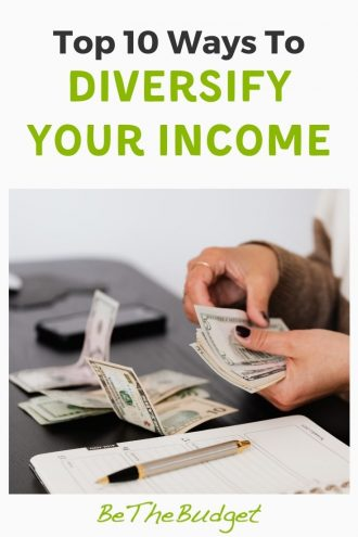 Top 10 ways to diversify your income | Be The Budget