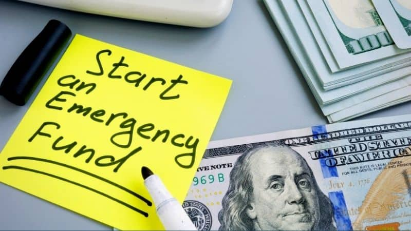 how to start an emergency fund in 5 steps | Be The Budget