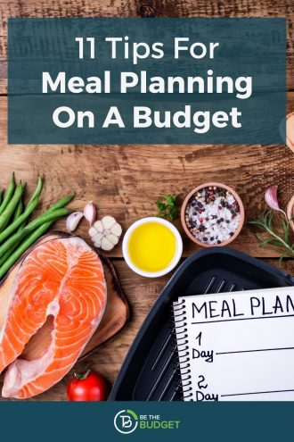 How to plan meals on a budget | Be The Budget