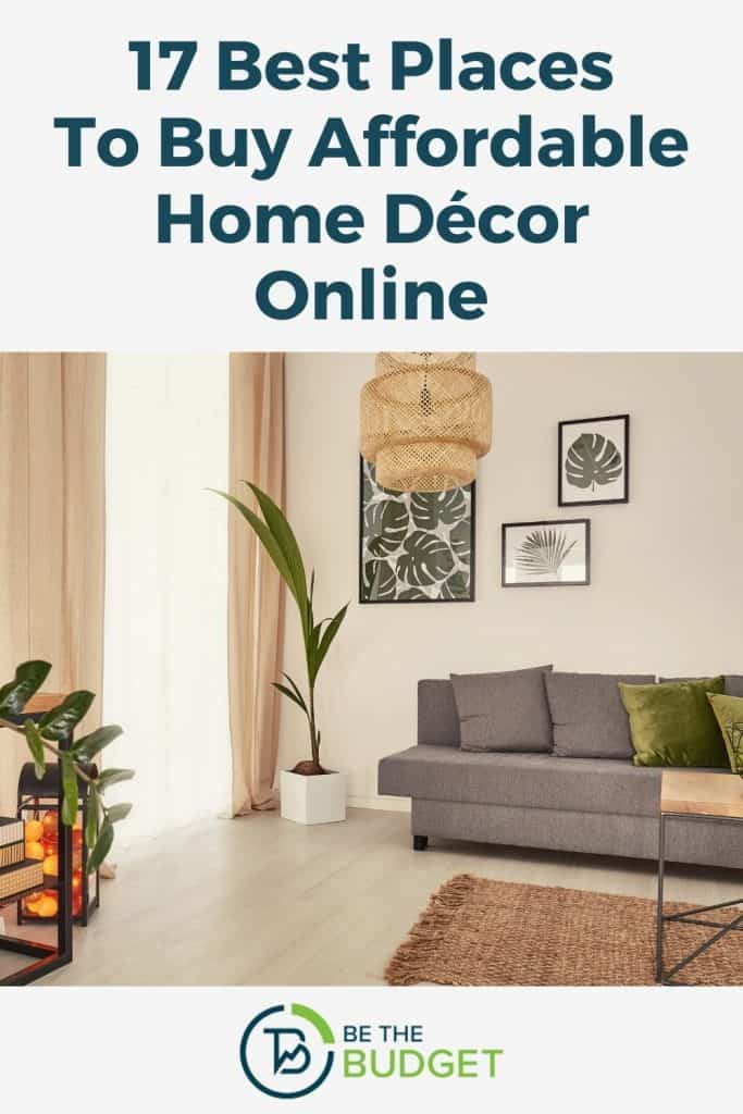 17 Best Places To Buy Affordable Home Décor Online | Be The Budget