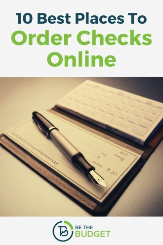 10 best places to order checks online | Be The Budget