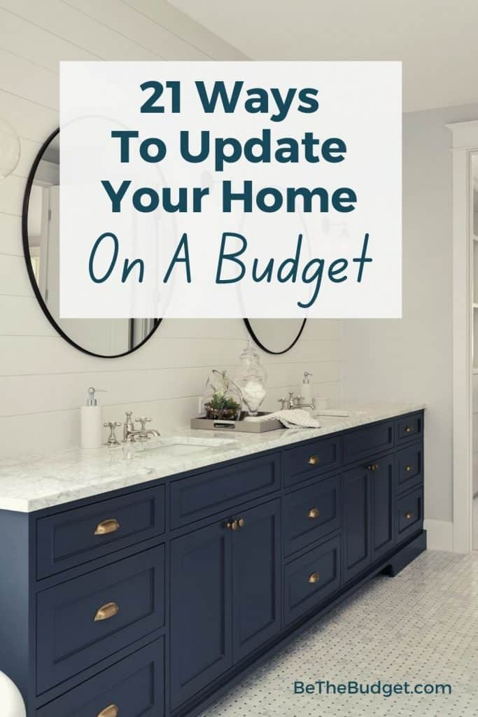 How to update an old home on budget | Be The Budget
