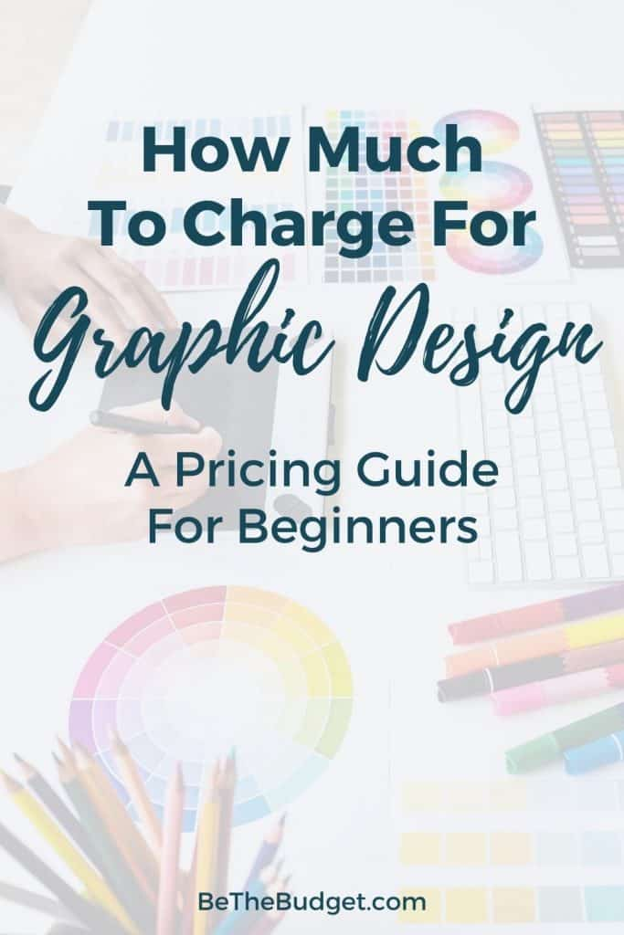 How much to charge for graphic design: a pricing guide for beginners | Be The Budget