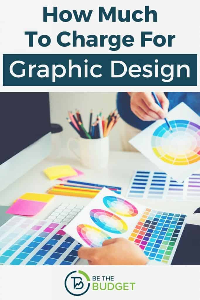 How much to charge for graphic design | Be The Budget