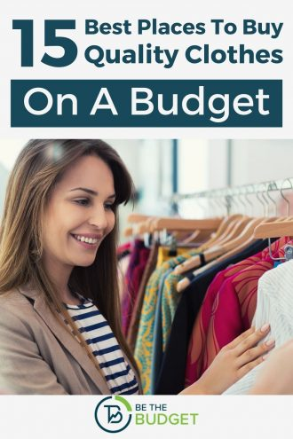 15 best places to buy quality clothes on a budget | Be The Budget