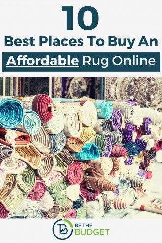 10 best places to buy an affordable rug online | Be The Budget
