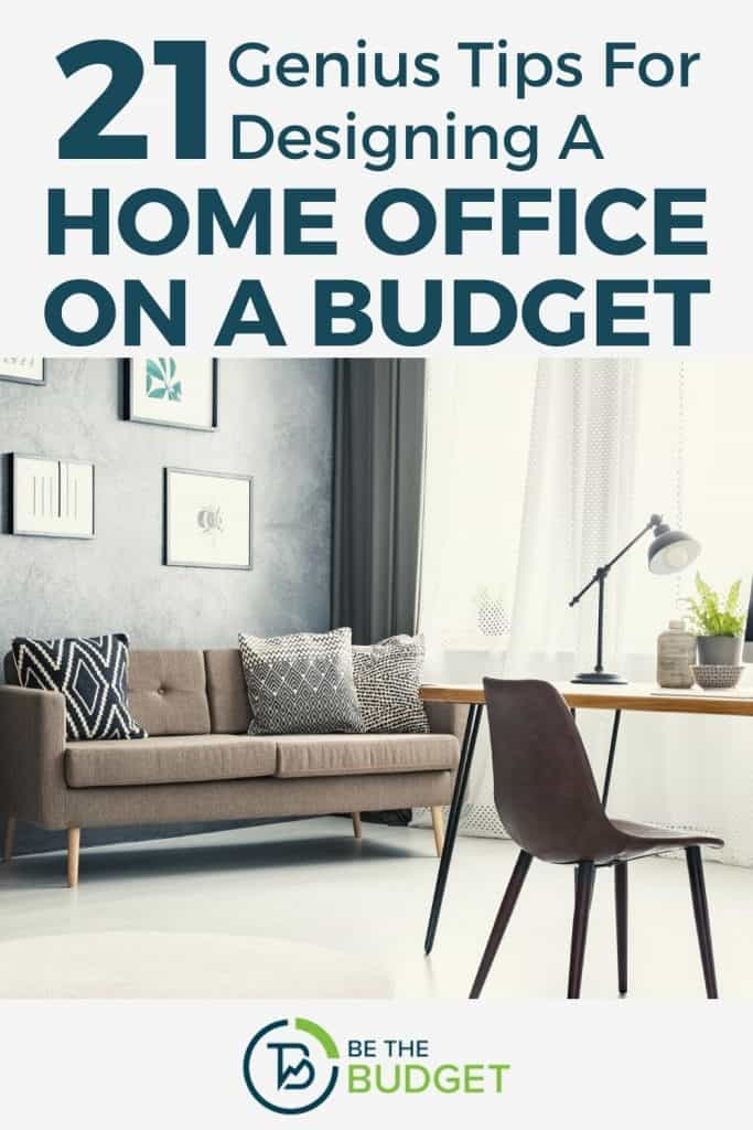 21 tips for designing a home office on a budget | Be The Budget
