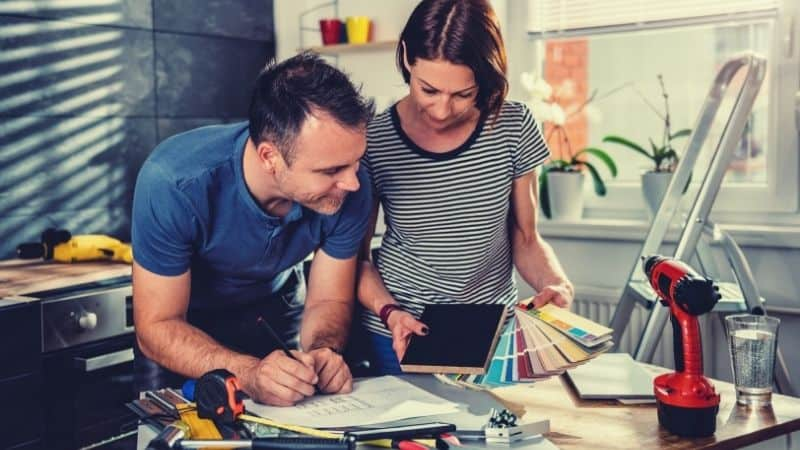 How to update an old home on a budget