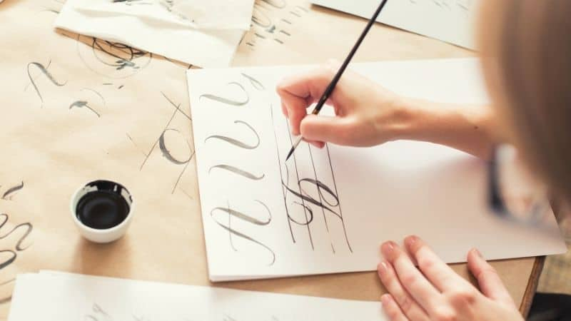 How To Make Money With Calligraphy | Be The Budget