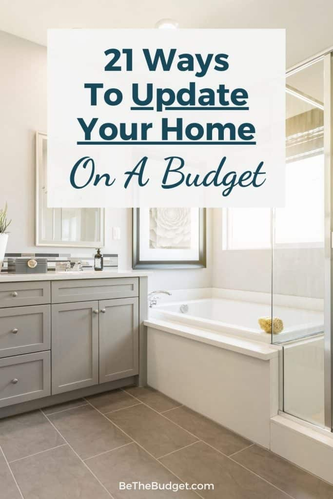 Cheap ways to update an old home | Be The Budget