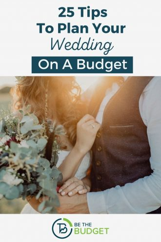 25 tips to plan a wedding on a budget | Be The Budget