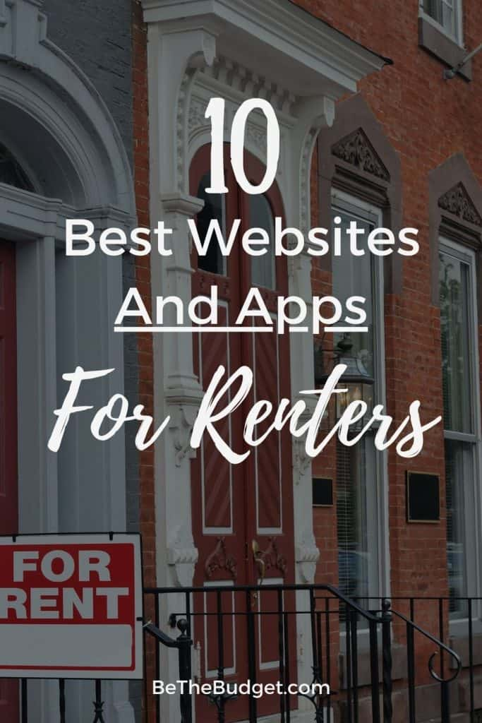 10 best websites and apps for renters | Be The Budget
