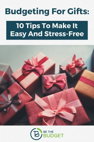 Budgeting For Gifts: 10 Tips To Make It Easy And Stress-Free | Be The Budget