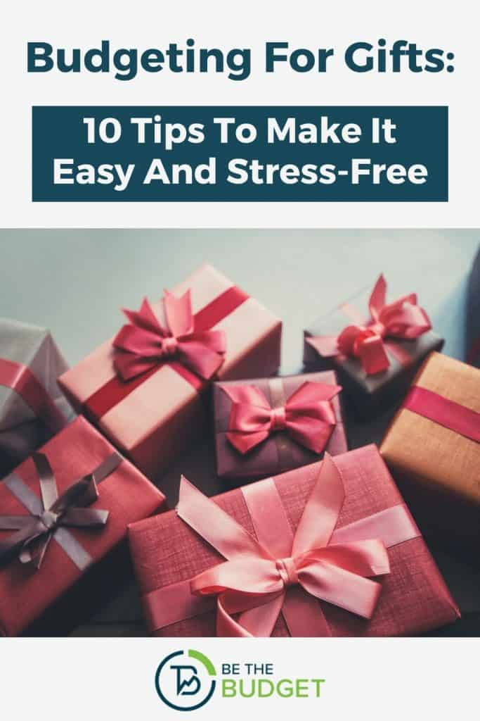 Budgeting For Gifts: 10 Tips To Make It Easy And Stress-Free   Be The Budget