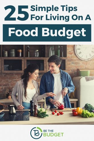 25 simple tips for living on a food budget | Be The Budget