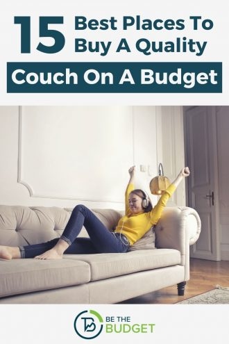 15 best places to buy a quality couch on a budget | Be The Budget