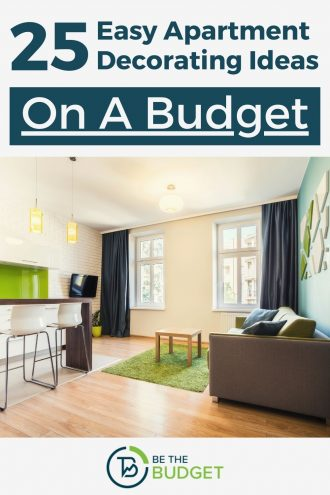 25 apartment decorating ideas on a budget | Be The Budget
