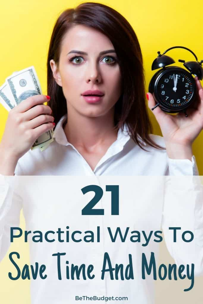 how to save time and money   Be The Budget