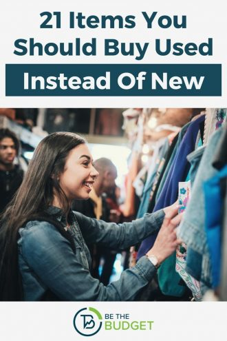 21 Items You Should Buy Used Instead Of New | Be The Budget