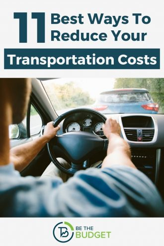 11 best ways to reduce your transportation costs | Be The Budget