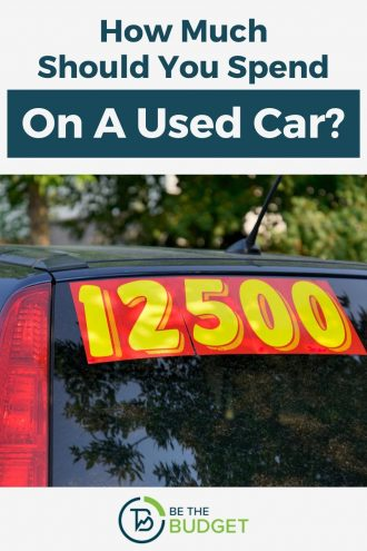 How much should you spend on a used car? | Be The Budget